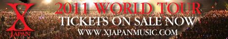 X JAPAN  2011 WOURLD TOUR