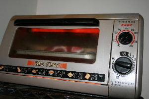 オーブントースターで