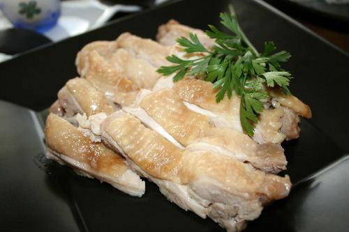 鶏肉のレタス巻き1