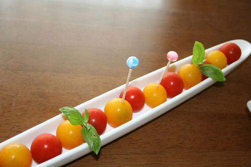 プチトマトのサラダ
