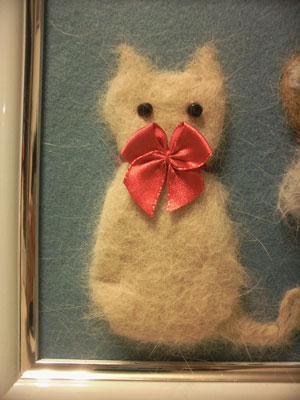 猫毛フェルト2