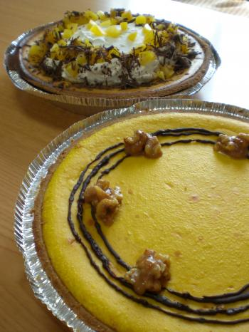 南瓜&栗チーズケーキ