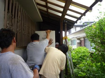 和歌山岡電器サービス岩出パナットおかオール電化リフォームエアコン取り付け無料見積り