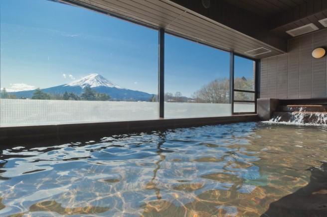富士山展望風呂