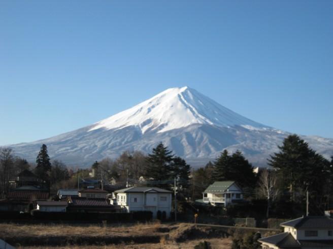 3月13日富士山