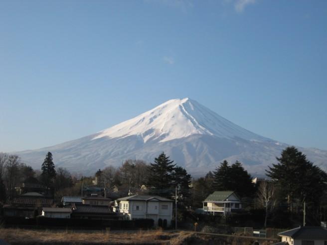 3月14日富士山