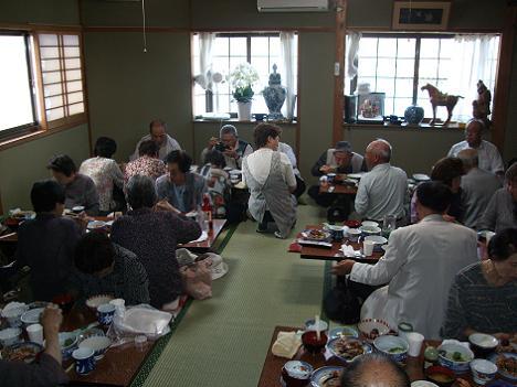2011さわやか研修 昼食