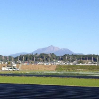 鯉のぼり&霧島連山