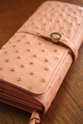 三京商会 オーストリッチの高級財布