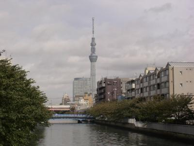 大横川からの東京スカイツリー