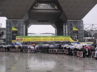 東京モーターショー入場ゲート