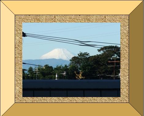 ワードシェイプの富士山