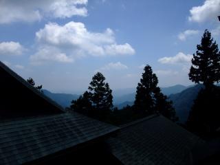 御岳山929mより