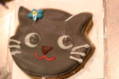 猫クッキーにゃ