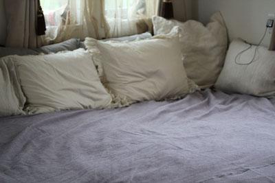 枕の数15個くらい?