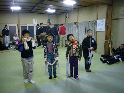H230323経田獅子舞練習