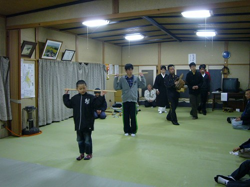 H230323経田獅子舞練習3