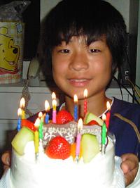 2004ユーキ誕生日