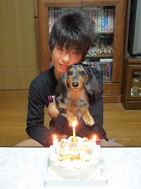 2008ユーキ誕生日