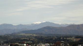 2011年秋の冠雪