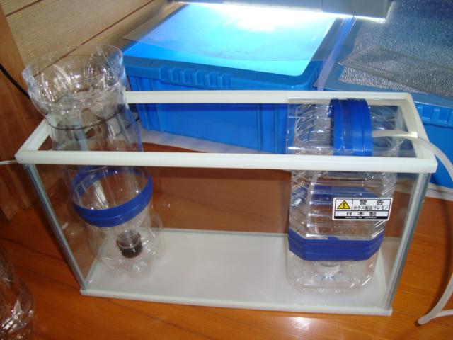 我が家のブライン孵化し器機(2)。