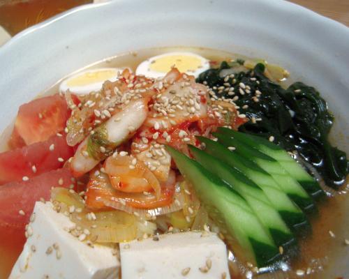 スンドゥブ・チゲ風冷やし麺2