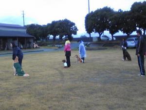 雨の日の練習1