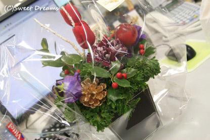 お花のプレゼント♪