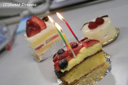 ケーキも♪♪