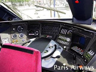 TGV運転台 鉄道博覧会 シャンゼリゼ