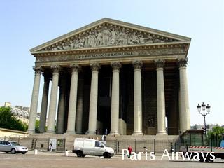 パリ マドレーヌ寺院
