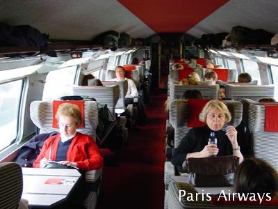 TGV 1等車