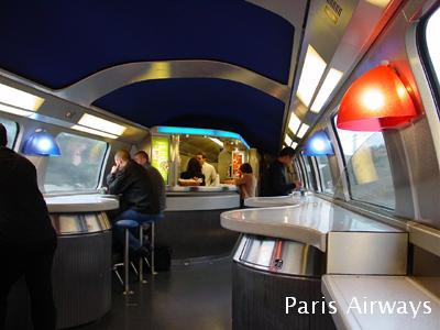 TGV Duplex 食堂車 Bar