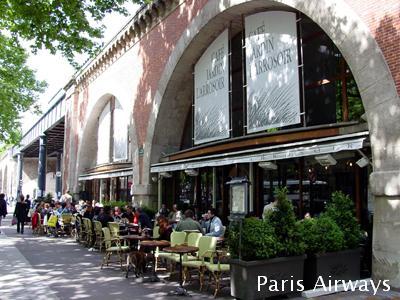cafe jaldin l'arrosoir パリ