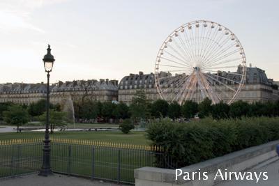 パリ チュイルリー 移動遊園地 観覧車