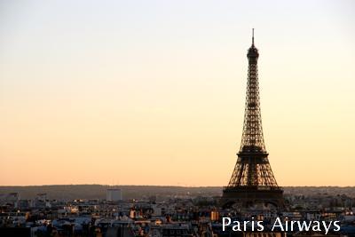 パリ チュイルリー 移動遊園地 観覧車 エッフェル塔