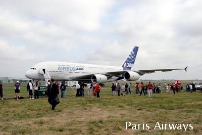 A380 パリ航空ショー