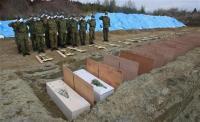 東日本大震災 埋葬