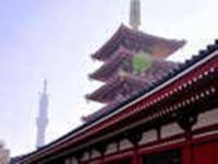 東京スカイツリーと浅草寺・五重塔