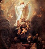レンブラント キリストの昇天