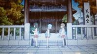 アニメと神社 2 「日常」
