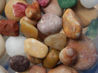 pebbles on the beach of Nice 2011