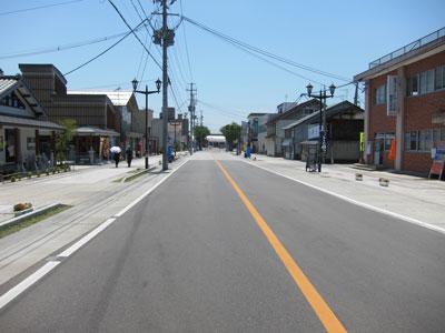 1107喜多方駅前通り