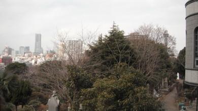 04外人墓地から景色