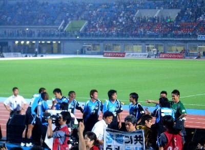 多摩シコ試合後選手達