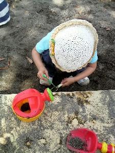 フロンパーク砂場