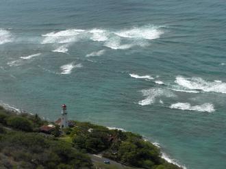 ハワイの灯台