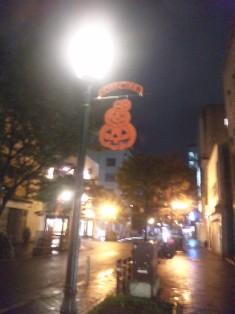 かぼちゃ街灯1