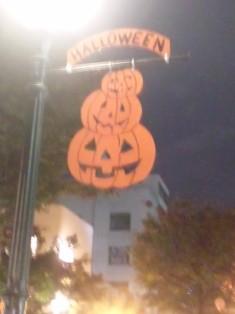 かぼちゃ街灯2