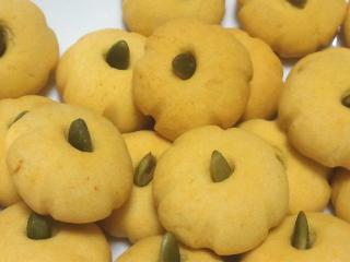 かぼちゃのクッキー(拡大)